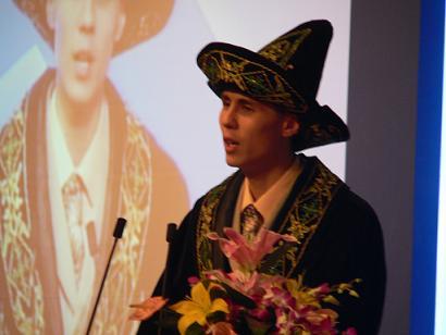 开幕式:06亚洲留学奖学金获得者代表讲话