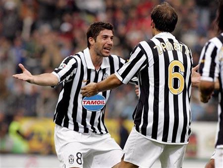 意乙-扎内蒂进球皮耶罗失意 尤文1-0特列斯蒂那