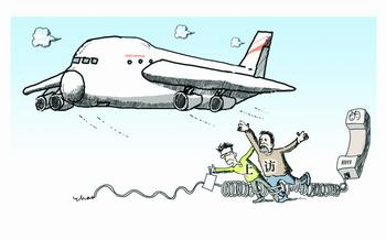 市民上访机场无手续拦截(图)图片