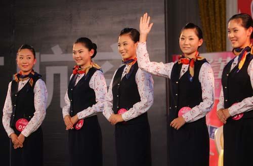 空姐重庆赛区15强仅3本地妹
