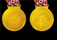 图文:第十五届多哈亚运会奖牌