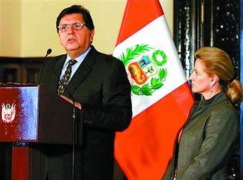 秘鲁总统加西亚承认有一私生子 声称不逃避责任