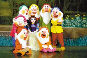 卡通剧《白雪公主》《丑小鸭》来到广州(图)