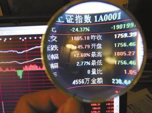 为上证指数5年走势.新华社供图-沪指大涨五年首跃千八