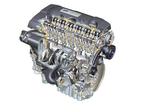 直列6缸3.2发动机透视图(图)