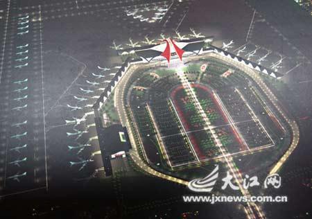 投资25亿 本网请您为昌北国际机场改扩建选方案