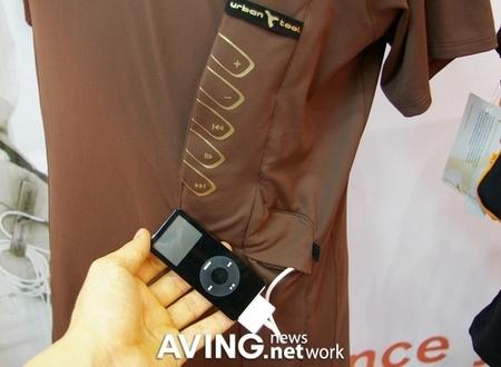 iPod再次惹眼 冬季专用T恤衫亮相(图)