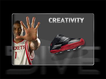 图文:adidas篮球鞋5ive