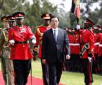 2006年胡锦涛主席在肯尼亚访问