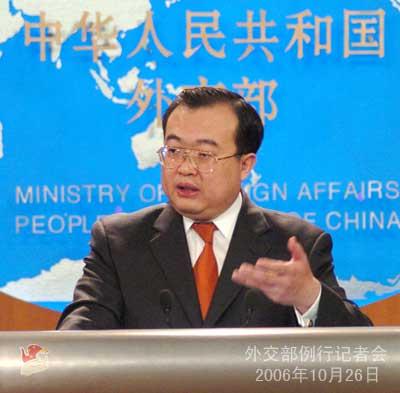 刘建超谈中方对待朝鲜非法入境者的立场(图)