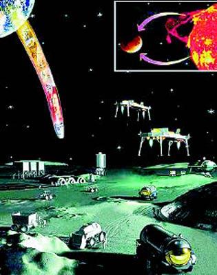 航天专家表示中国人15年后登上月球建基地