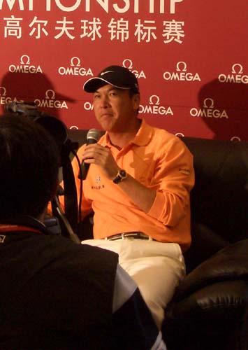 高球国家队教练张连伟呼吁 增加男子名额才能赢