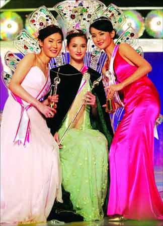 亚洲小姐竞选昨晚在澳门举行 夺冠者来自哈萨克