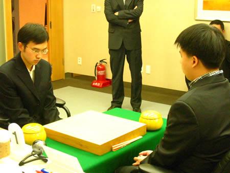 组图:第11届LG杯八强赛开赛 谢赫陈耀烨出战