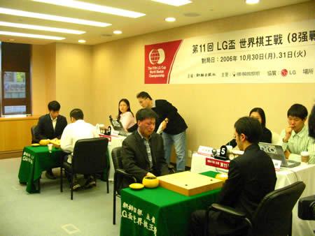 组图:第11届LG杯八强赛开赛 陈耀烨对阵赵汉乘