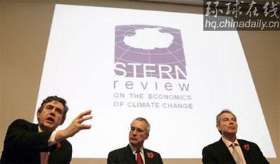英政府报告称全球变暖可能会毁灭世界经济(图)