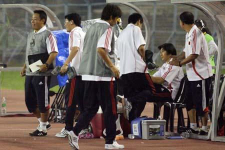 图文:亚青赛中国1-0澳大利亚 贾秀全无动于衷