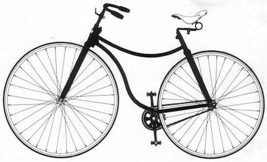 罗孚自行车(图)