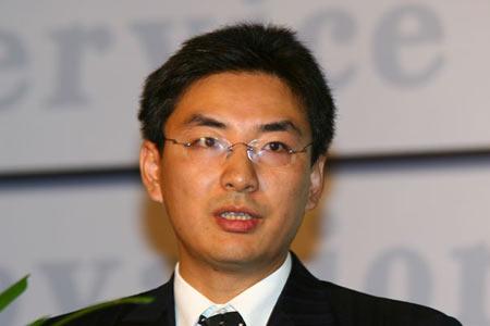 图文:华为公司软件营销工程中国分部部长刘哲