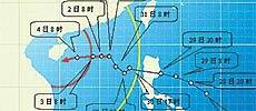 台风西马仑活动路经