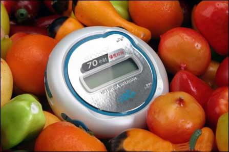 70小时连续播 索尼MP3 512MB仅499元