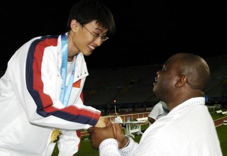 大运会冠军胡凯:有文化的人不会带有色眼镜