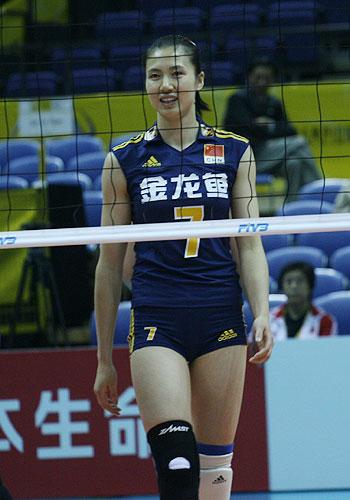 图文:女排世锦赛第三日 周苏红轻松登场