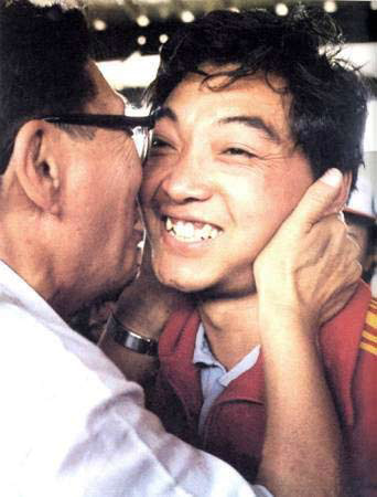 1984年洛杉矶奥运会冠军--许海峰