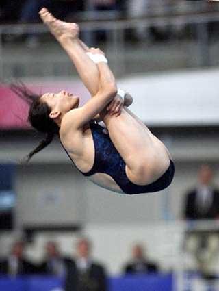 1996年洛杉矶奥运会冠军--伏明霞