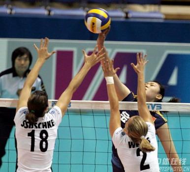 女排世锦赛-再发逆转噩梦 中国1-3德国遭两连败