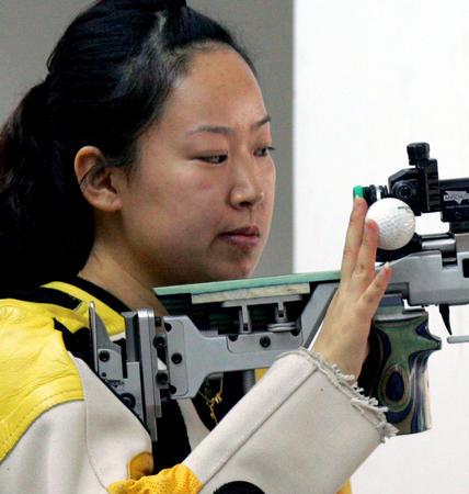 2008奥运希望之星--射击武柳希