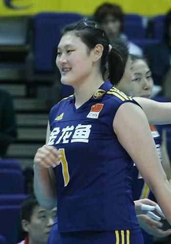 2008奥运希望之星--女排王一梅