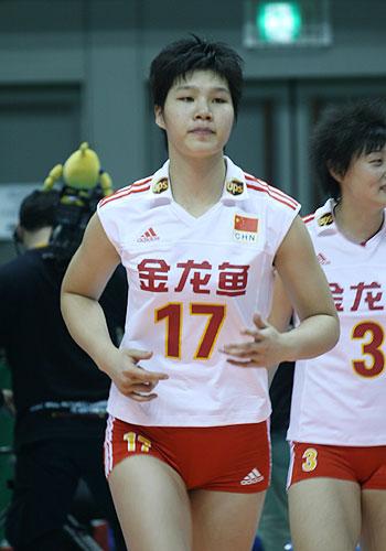 2008奥运希望之星--女排徐云丽
