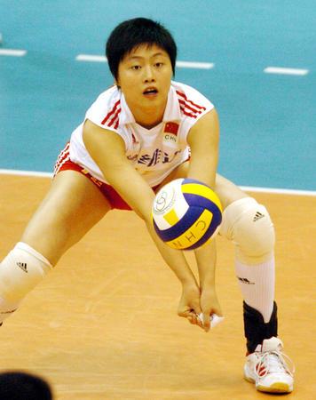2008奥运希望之星--女排马蕴雯