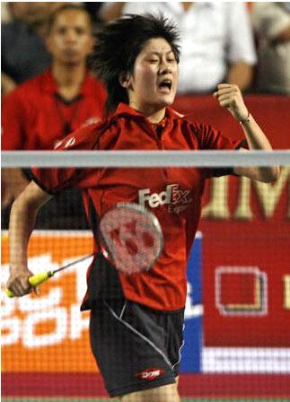 朱琳  出生在上海的朱琳在9岁时与羽毛球结下了缘分.凭借...