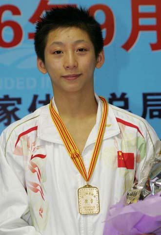 2008奥运希望之星--跳水林跃