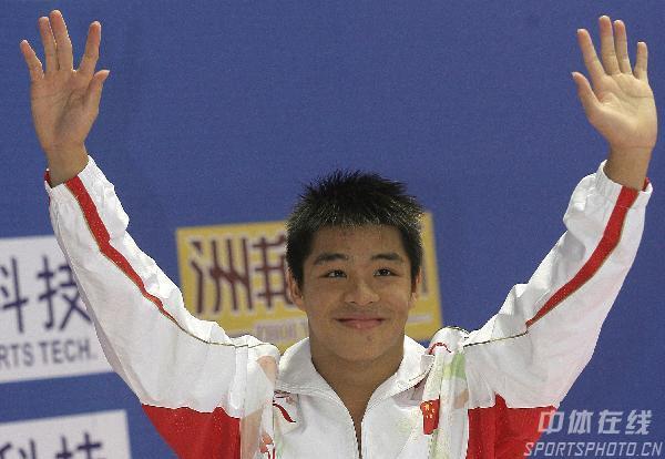 2008奥运希望之星--跳水何冲