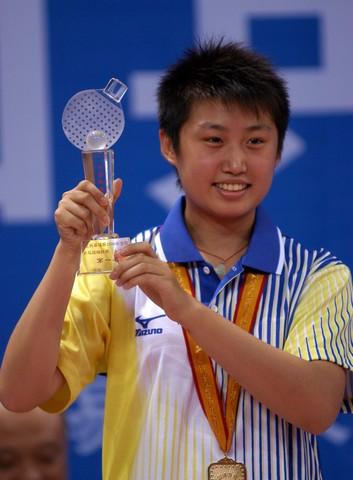 2008奥运希望之星--乒乓郭跃