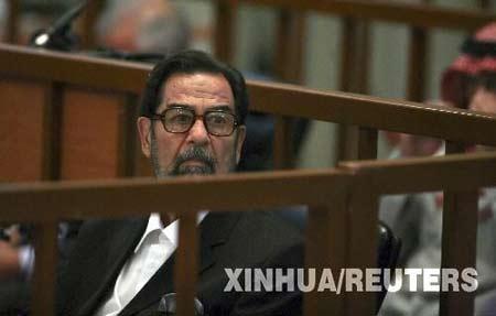 伊拉克高等法庭宣布萨达姆被判绞刑(图)