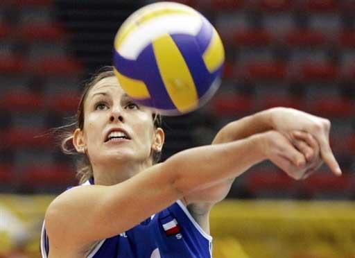 图文:女排世锦赛第五日 塞黑球员尼克拉奇