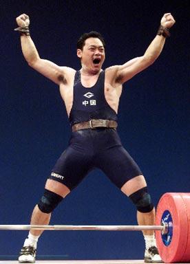 2000年悉尼奥运会冠军--占旭刚