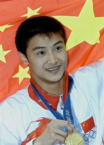 2000年悉尼奥运会冠军--田亮