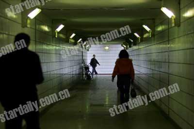 北京政协委员建议城区地下通道全部装探头(图)