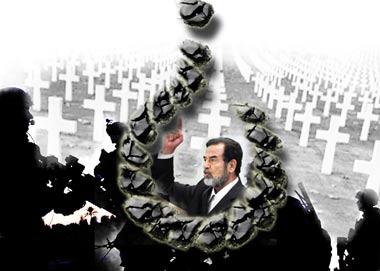 法律之上有人道:反对判处萨达姆死刑