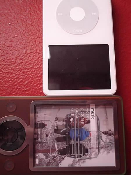 30GB iPod厚度