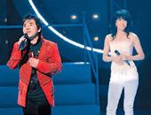 郑裕玲与吕方合唱一曲