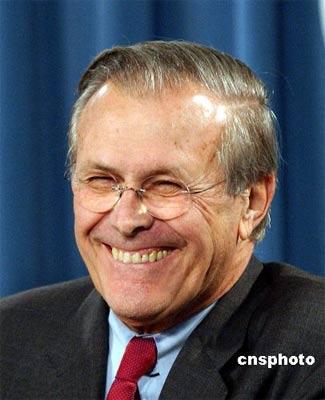 拉姆斯菲尔德今递交辞呈 CIA局长继任美国防长