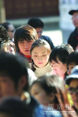 """""""红楼梦中人""""北京开考 第一天黛玉多宝玉少"""