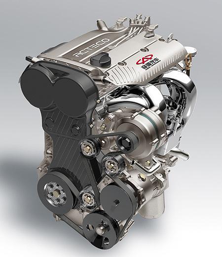 首款自主V8发动机 奇瑞动力亮相北京车展