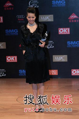 风尚人物大奖:梁咏琪